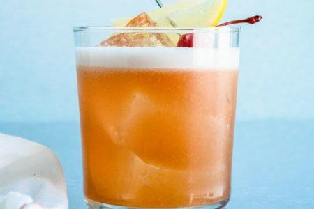 Foto von Amaretto Sour Cocktail